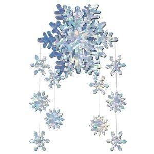 decoration flocon reine des neiges