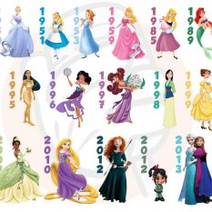 La signification des robes des princesses Disney