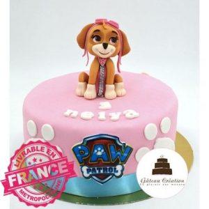 Gâteau d'anniversaire Stella Pat Patrouille