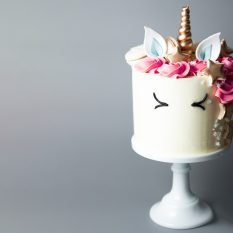 Décoration gâteau licorne facile