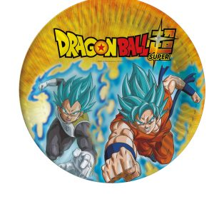 Assiettes en carton Dragon Ball Super