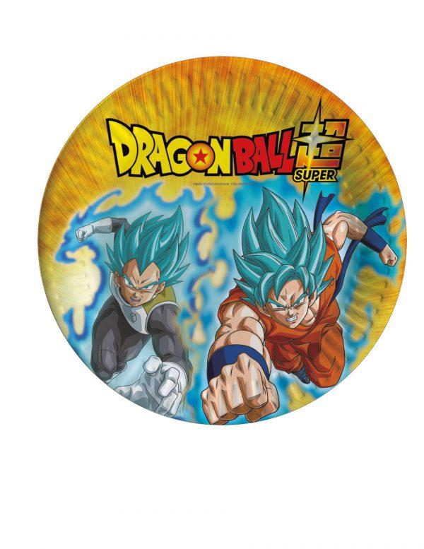 Assiettes en carton Dragon Ball Super