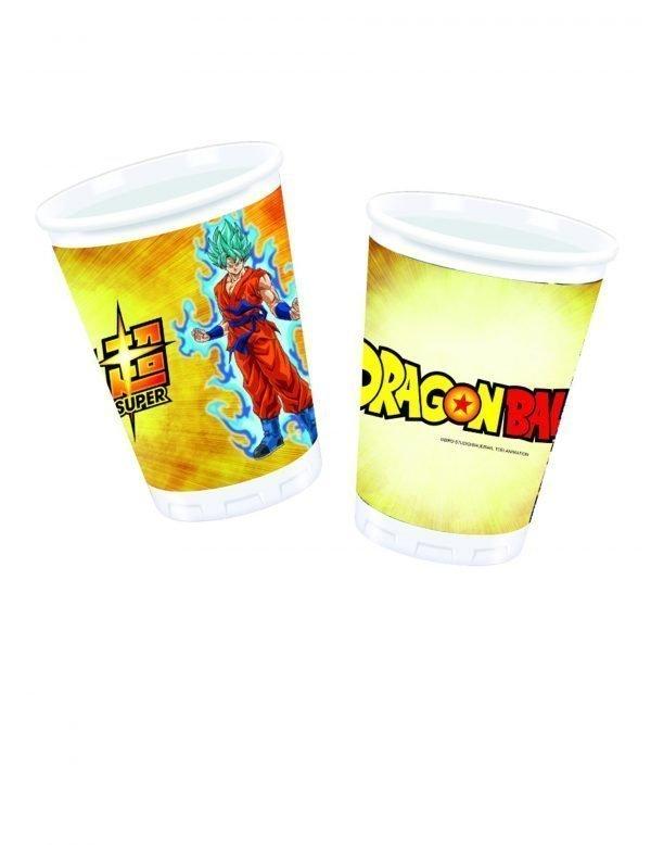 Gobelet plastique Dragon Ball Super