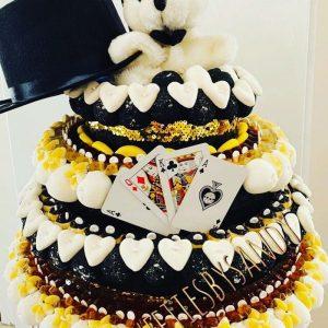 Gâteau d'anniversaire bonbons Magie
