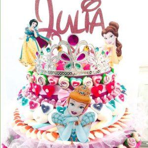 gateau bonbon design princess anniversaire enfant